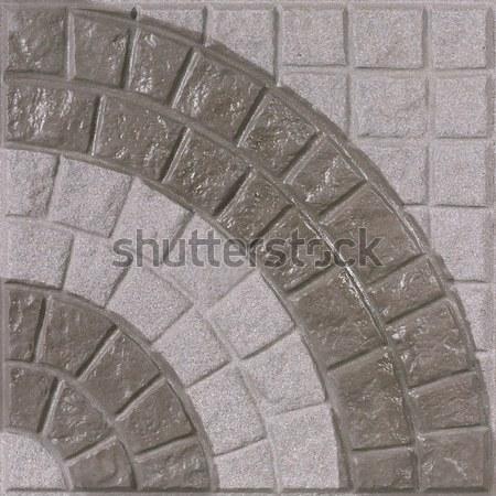 Nice шаблон полу плитка стены соответствовать Сток-фото © JohnKasawa