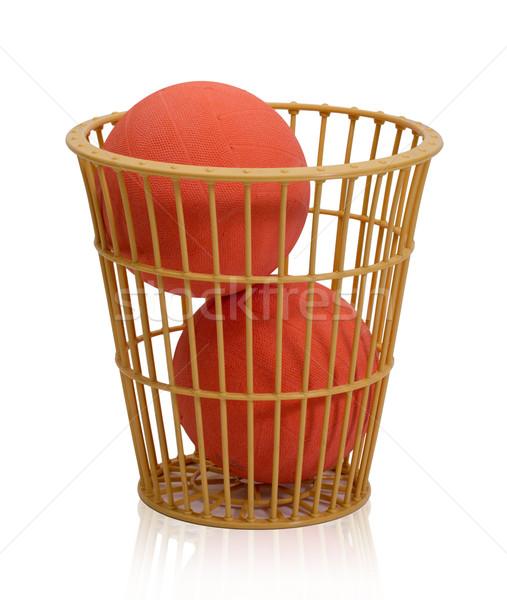 Stock fotó: Kosár · kosárlabda · világ · kedvenc · sportok · izolált