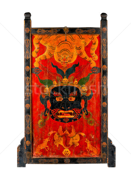 Tibet's ancient painting with story about buddhism religion  Stock photo © JohnKasawa