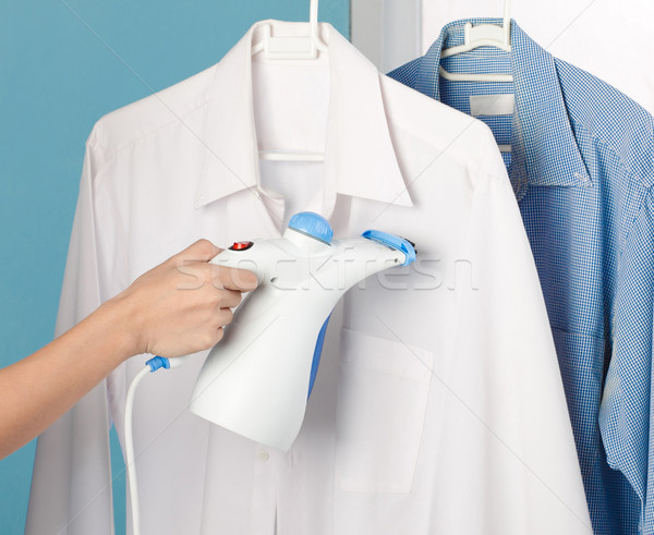 Steam iron to help your housework more easy Stock photo © JohnKasawa