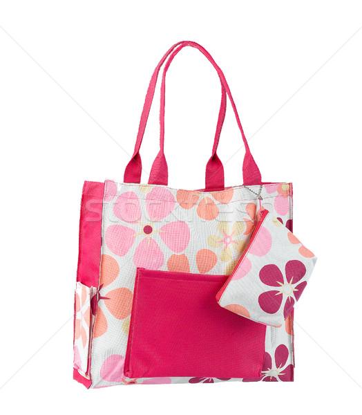 女性 ハンドバッグ 白 かわいい 単に リラックス ストックフォト © JohnKasawa