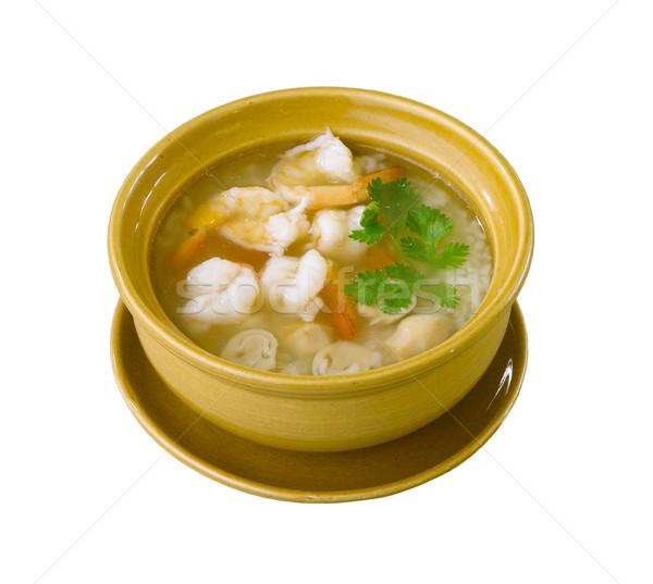 риса суп вкус энергии Сток-фото © JohnKasawa