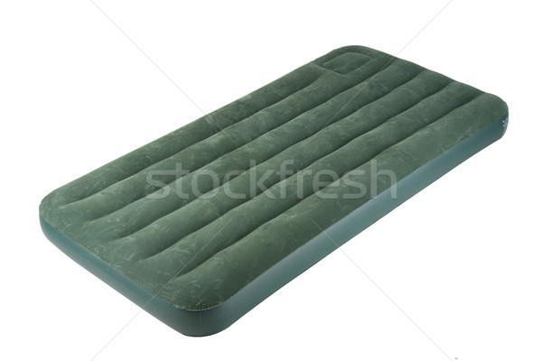 The nice and soft air bed for camping and outdoor picnic Stock photo © JohnKasawa