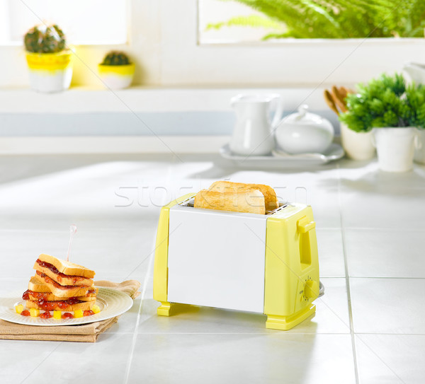 Bread toaster a useful kitchenware  Stock photo © JohnKasawa