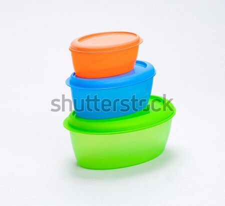 colorful cookie boxes or food boxes isolates  Stock photo © JohnKasawa