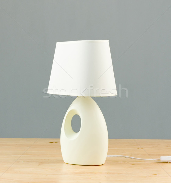 table and bedside lamp for interior use Stock photo © JohnKasawa
