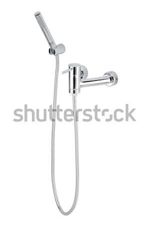 Nice design and beautiful chrome shower set Stock photo © JohnKasawa