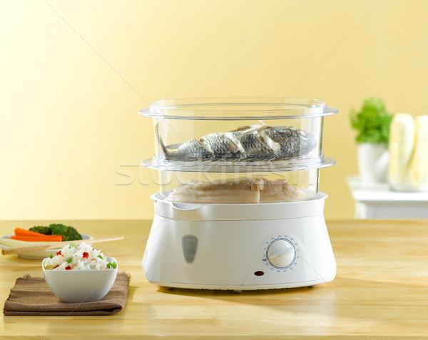Múltiple propósito eléctrica olla pan agradable Foto stock © JohnKasawa