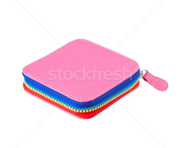 Stock fotó: Szép · színes · kicsi · pénztárca · kedvenc · rózsaszín