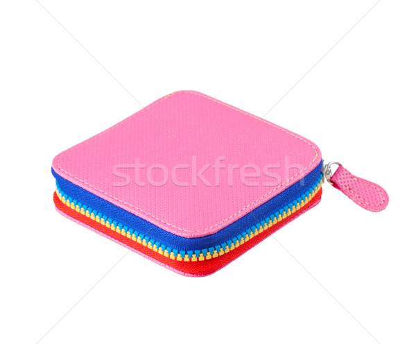 Güzel renkli küçük çanta favori pembe Stok fotoğraf © JohnKasawa