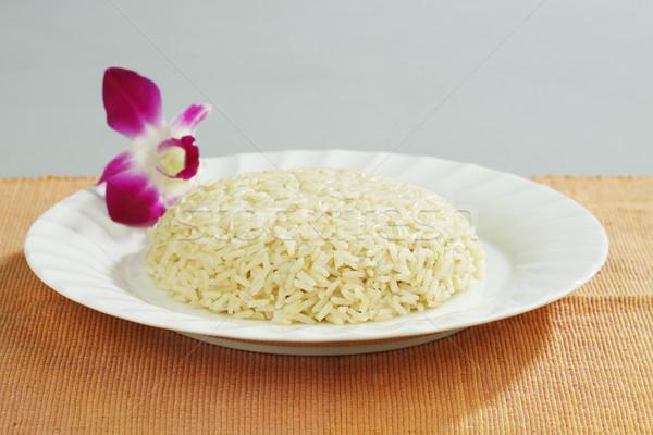 Jasmine thai  rice  Stock photo © JohnKasawa