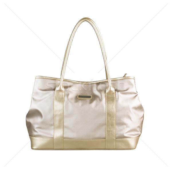 Güzel kadın çanta boş alışveriş gün Stok fotoğraf © JohnKasawa