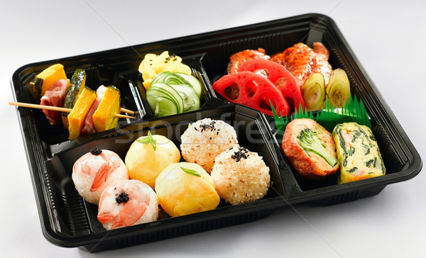Clean and hygiene Japanese lunchbox ready to eat  Stock photo © JohnKasawa