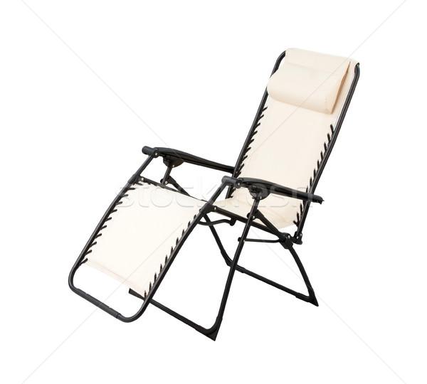 リラックス 椅子 孤立した 白 ホーム 家具 ストックフォト © JohnKasawa