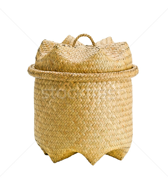 útil bambú cesta todo general propósito Foto stock © JohnKasawa