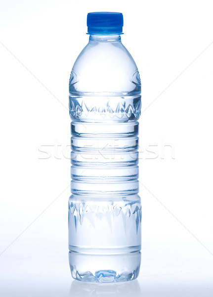 Purify drinking water in a clear bottle isolates  Stock photo © JohnKasawa