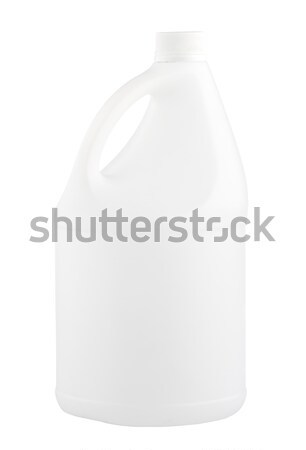 Empty 5 litres gallon no sign or label isolates on white  Stock photo © JohnKasawa