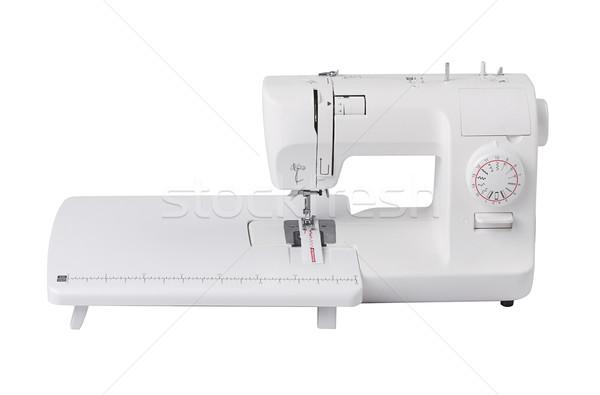 electric sewing machine tool isolates ob white  Stock photo © JohnKasawa