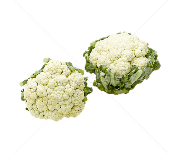 cabbage cauliflower isolated Stock photo © JohnKasawa