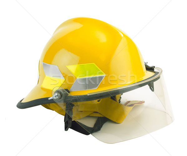 Safety helmet for fireman to protection himself from dangerous  Stock photo © JohnKasawa