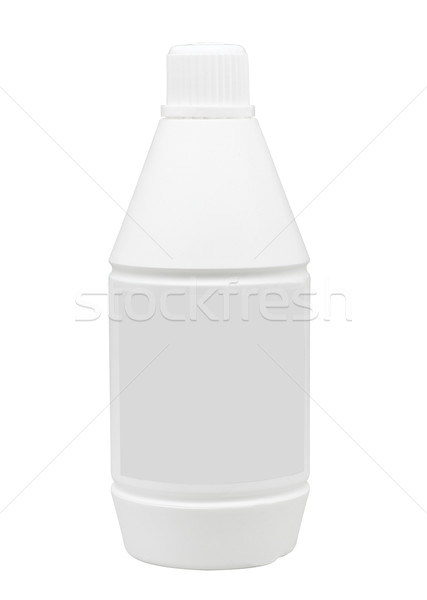 Empty liquid medicine bottle and label so put your brand on it Stock photo © JohnKasawa