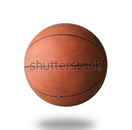 Old basketball isolated Stock photo © JohnKasawa