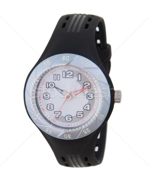 Sport style wristwatch isolated on white Stock photo © JohnKasawa