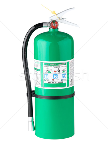Chemical extinguisher Stock photo © JohnKasawa