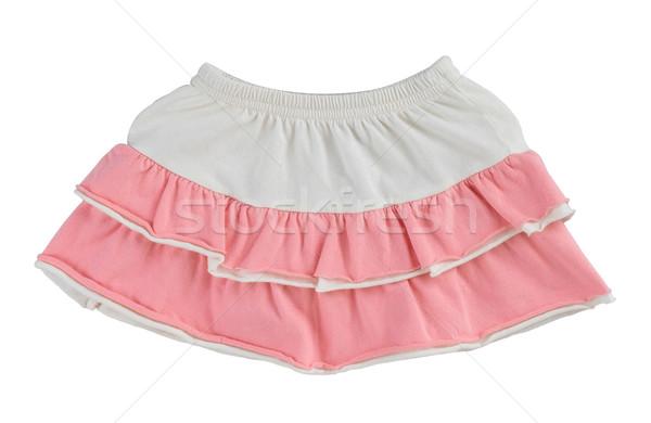 girl's skirt one of her favorite clothing Stock photo © JohnKasawa