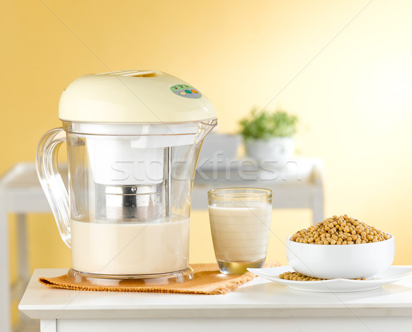 Soybean soy milk  blender machine  Stock photo © JohnKasawa