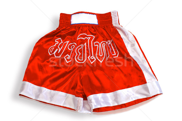 Thai boxing pant isolated  Stock photo © JohnKasawa