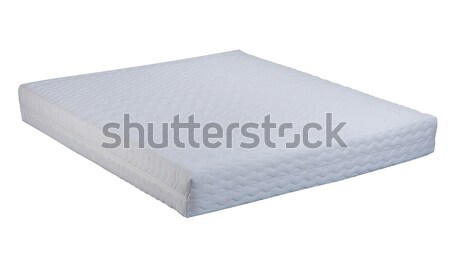 Matelas isolé blanche texture meubles lit Photo stock © JohnKasawa