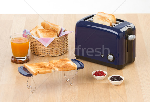 Bread toaster in the kitchen  Stock photo © JohnKasawa