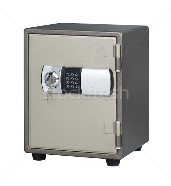 Biztonság széf jelentőség ajtó fém doboz Stock fotó © JohnKasawa