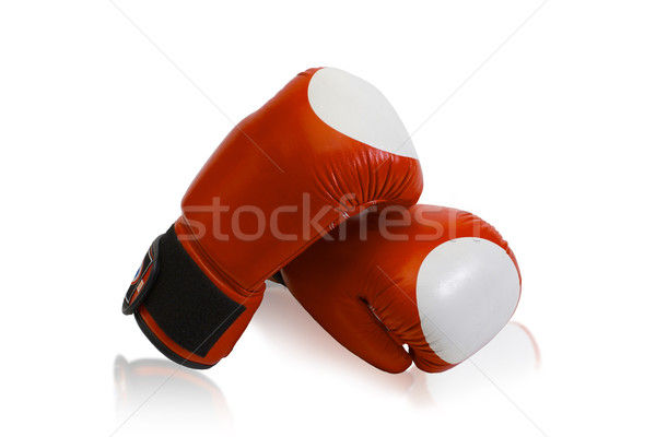 Boxing gloves the fighting sporting goods Stock photo © JohnKasawa