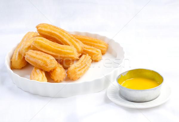 スティック カボチャ グレービー アジア スタイル 朝食 ストックフォト © JohnKasawa