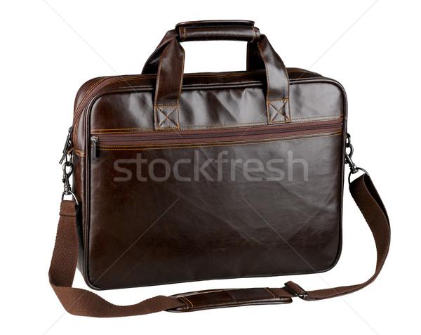 Leather briefcase  Stock photo © JohnKasawa