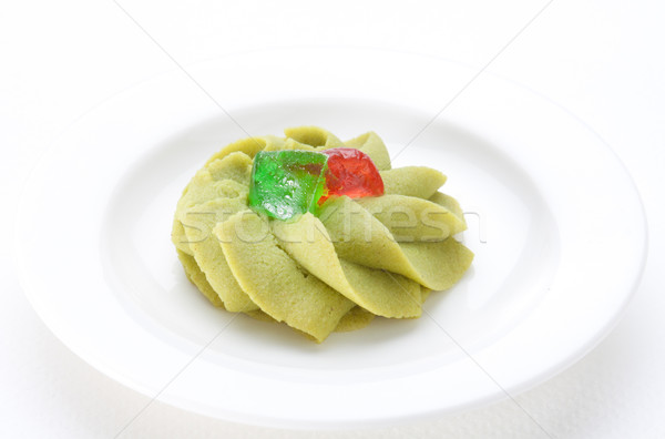 Cookie green tea flavor  Stock photo © JohnKasawa