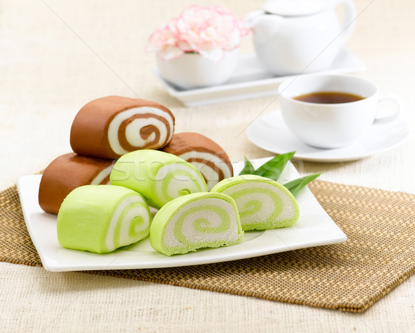 Dim sum dumpling chinese style cake  Stock photo © JohnKasawa