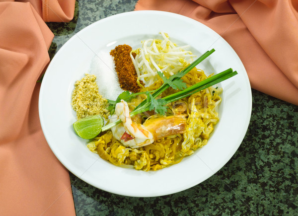 Thai populair stijl ei keuken Stockfoto © JohnKasawa