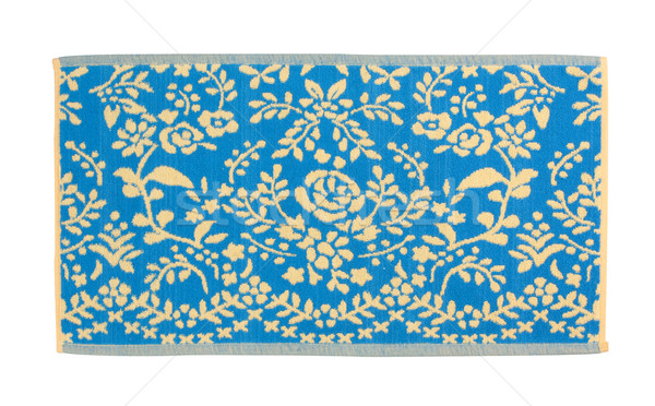 Nice cleaning door mat  isolated on white Stock photo © JohnKasawa