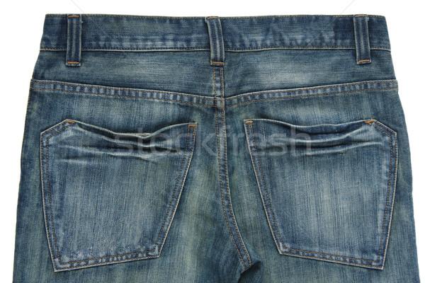 Closeup of the back jean showing the pocket design  Stock photo © JohnKasawa