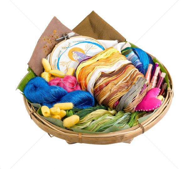 colorful and useful thread for needlework Stock photo © JohnKasawa