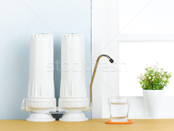 great water filter to purify your drinking water Stock photo © JohnKasawa