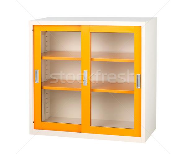 Güzel klozet turuncu renk iş ofis Stok fotoğraf © JohnKasawa