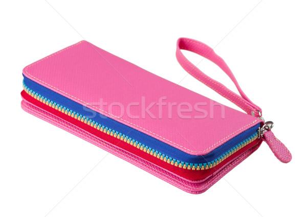 Beautiful lady purse keep your banknote cards or miscellaneous s Stock photo © JohnKasawa