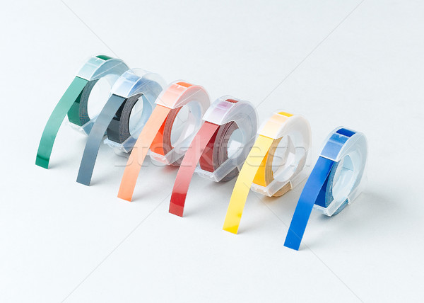 Emboss alphabet tape  Stock photo © JohnKasawa