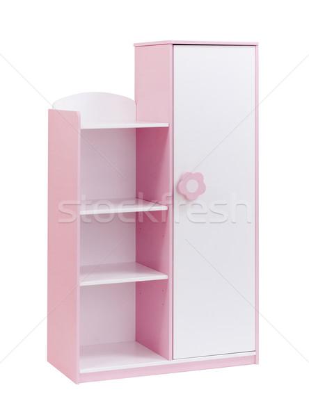 Pink cabinet for children to keep there stuffs Stock photo © JohnKasawa