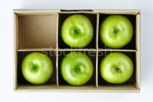 Apples in the box  Stock photo © JohnKasawa