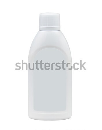 Empty liquid medicine bottle and label now putting your own bran Stock photo © JohnKasawa